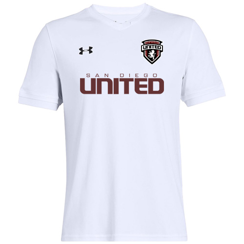 Under Armour Youth Maquina 2.0 Jersey - White