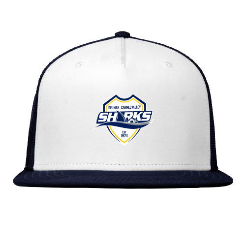 Player's Snap Back Mesh Cap - Navy/White