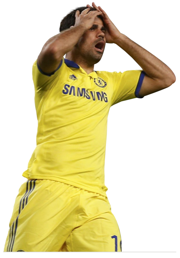Costa Hands on Head