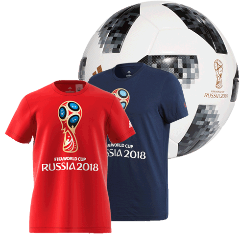 Shop Official 2018 FIFA World Cup Gear