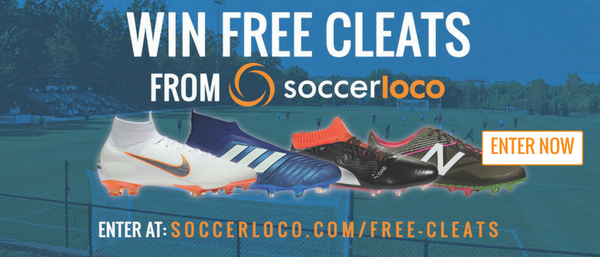 Win Free Soccer Cleats