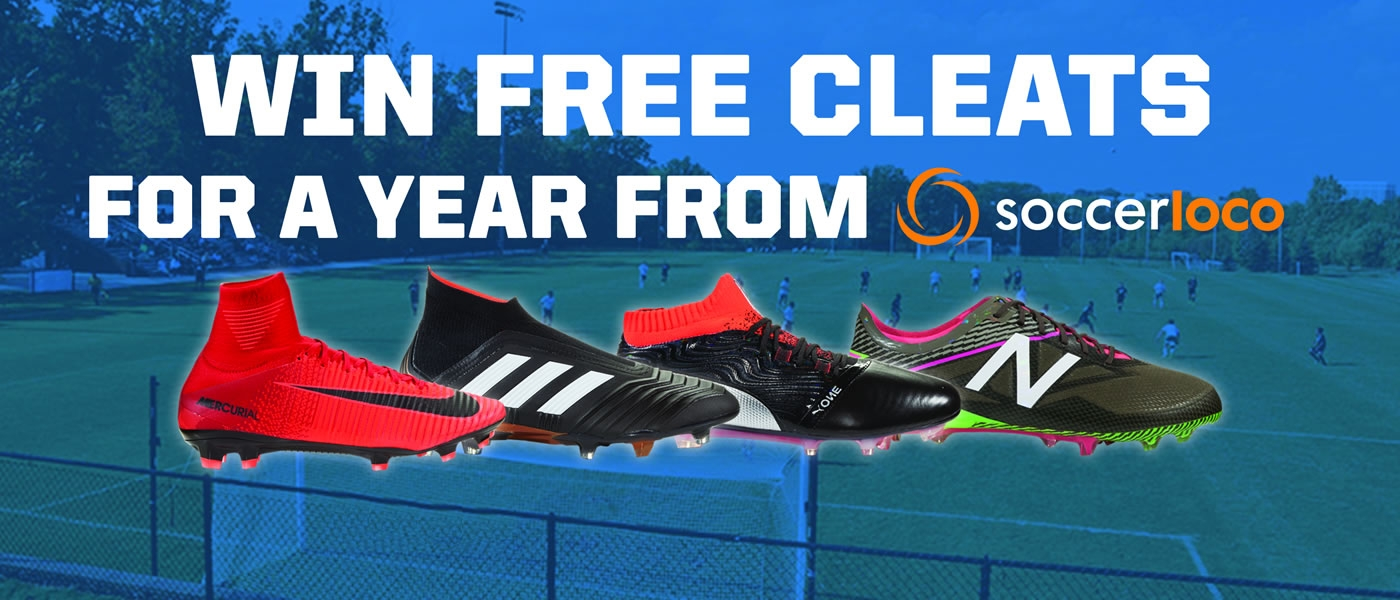 Win Free Soccer Cleats for a Year