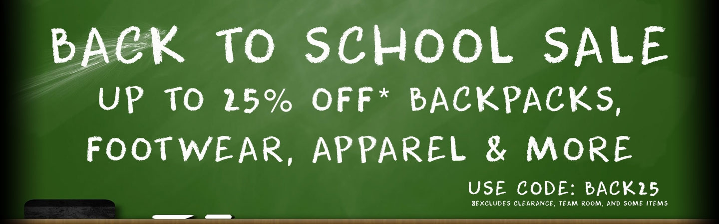 Back to School Sale