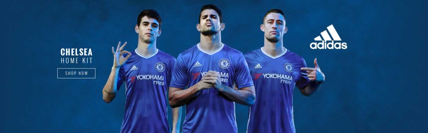 adidas Chelsea 2016/17 Home Kit