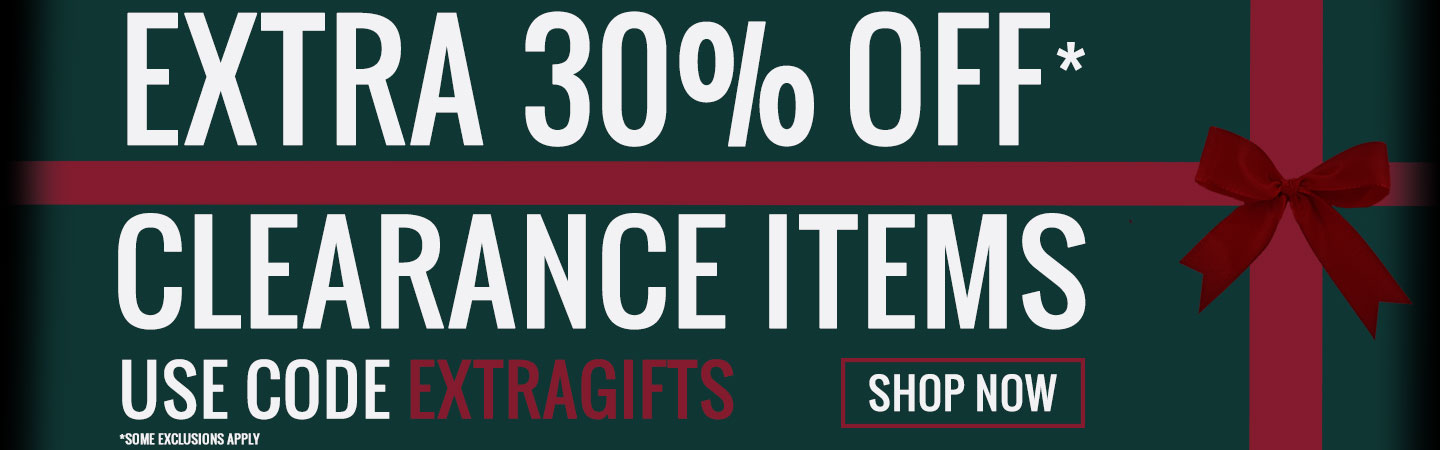 30% Off Clearance Sale