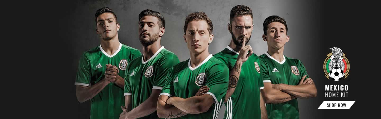 adidas Mexico 2016 Home Kit