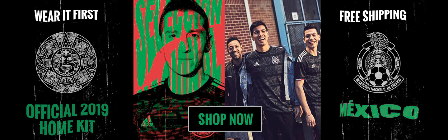 adidas Mexico 2019 Home Kit