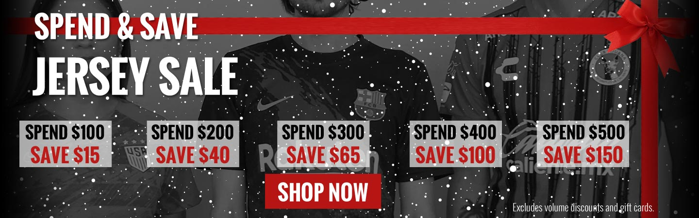 Spend and Save on Jerseys