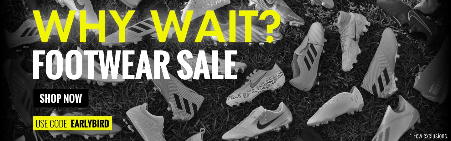 Why Wait Footwear Sale