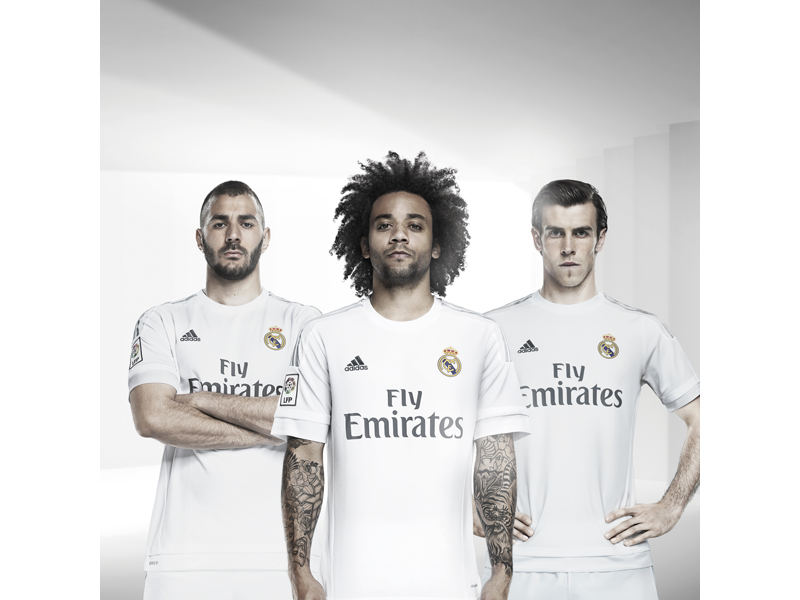 adidas Real Madrid Home Jersey 15/16