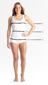 Puma Sizing Measurements